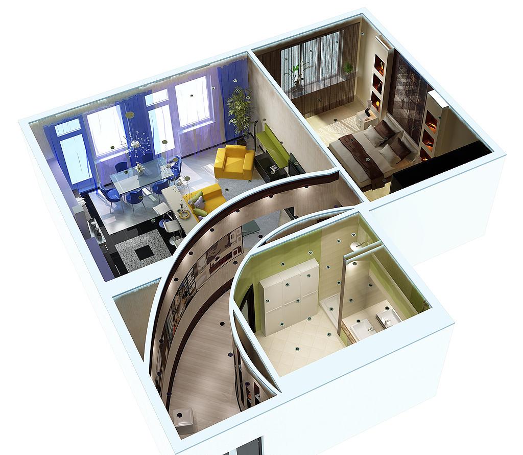Дизайн интерьера в воронеже - студия архитектуры и дизайна e.