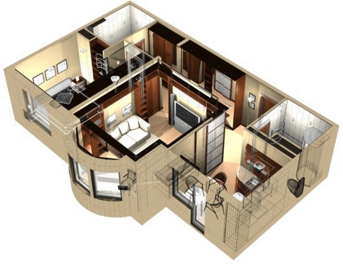 Проекты домов под ключ - Рего-Ремонт Новосибирск